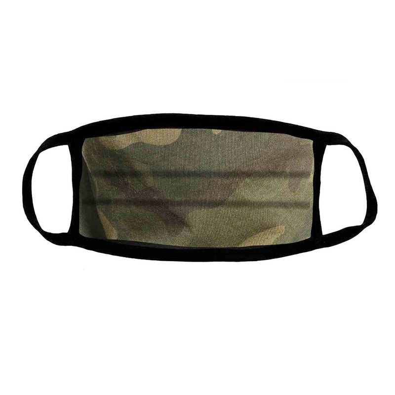 Camo Pleated Comfort Mask