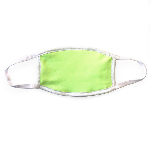 Premium Neon Yellow Mask