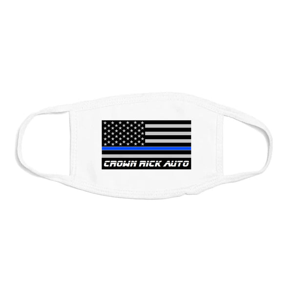 Crown Rick Auto x MM Mask (Thin Blue Line)