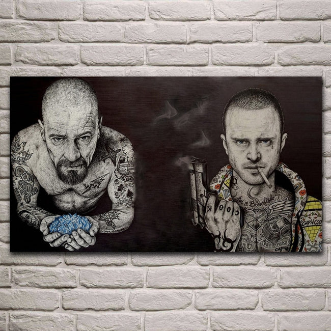 breaking bad serious tattoo actors