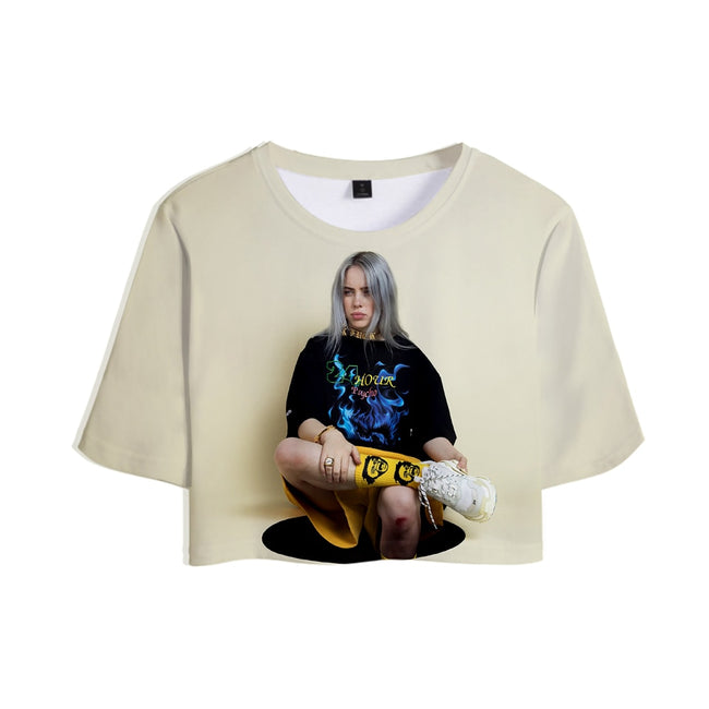 T-shirt 3D Billie Eilish Summer