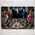 The Great Gatsby Art Silk Poster