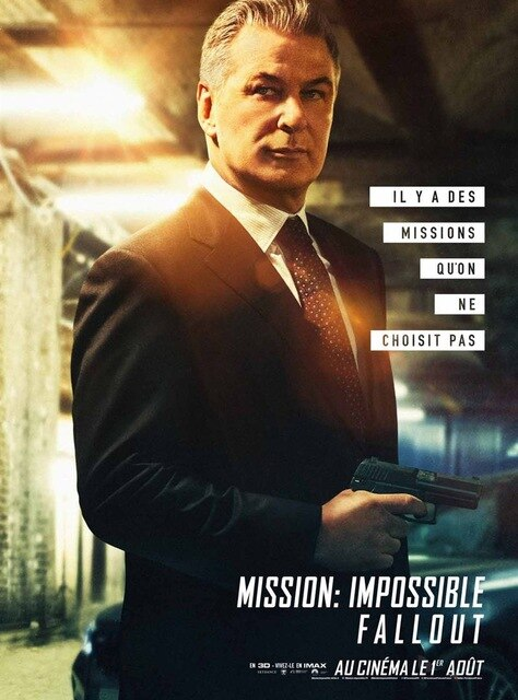 Tom Cruise Mission Impossible Poster