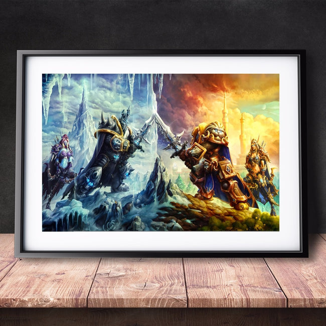 World Of Warcraft Watercolor