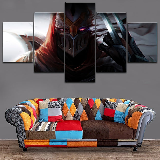 Zed HD Printed Game Poster