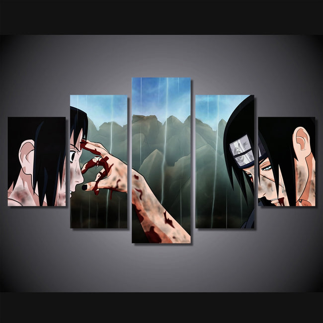 5 piece canvas art HD print anime
