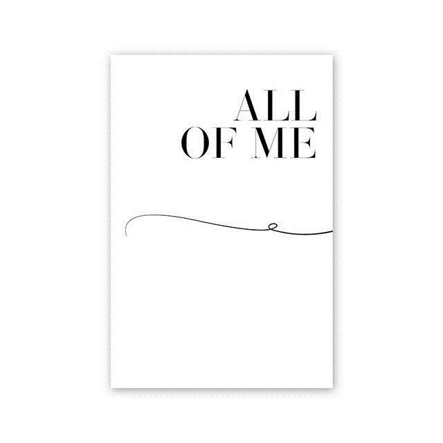 All Of You Or Me Paintings