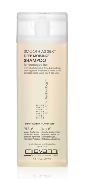 SMOOTH AS SILK™ DEEP MOISTURE SHAMPOO 8.5oz