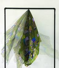 Load image into Gallery viewer, Upcycled Silk Scarf