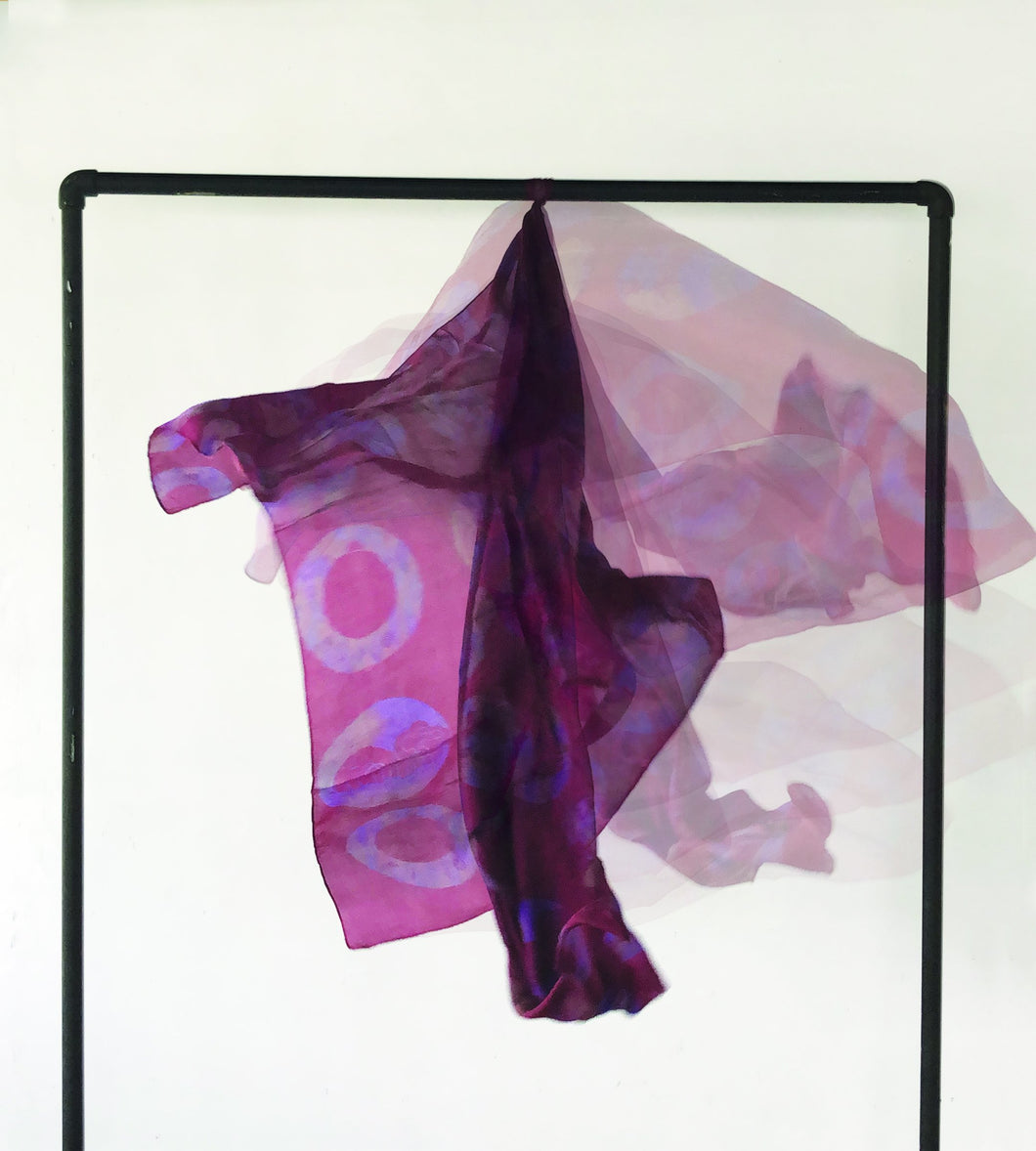 Upcycled Silk Scarf