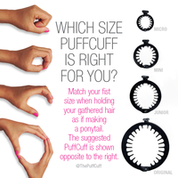 PuffCuff Mini SINGLE, 1 PIECE - 2.5 INCH