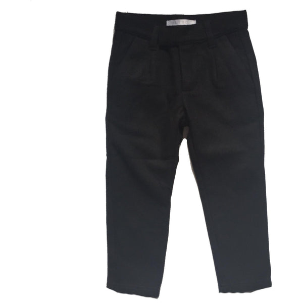 LIHO WOOL BLACK PANTS - BABY ELAINE