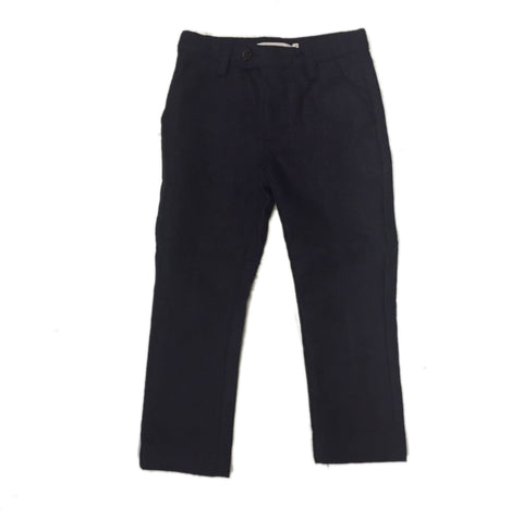 LIHO WOOL PANTS TWEED BLUE - BABY ELAINE