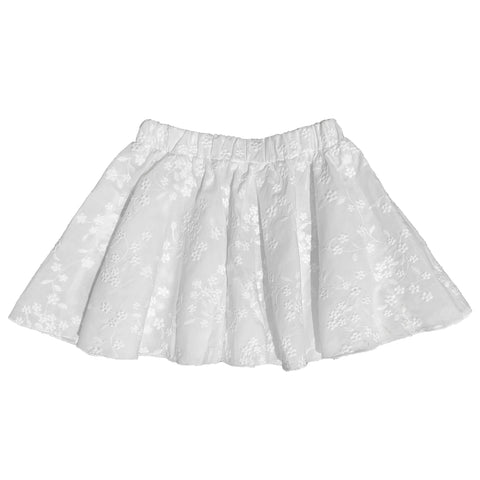 GAYA LAB SKIRT ADELE WHITE