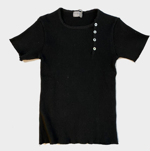 VIOLETA E FEDERICO TSHIRT TAPETA **LONG SLEEVE*** CAN BLACK