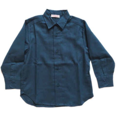 AMELIA MORGAN TEAL SHIRT
