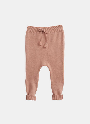 Belle Enfant Funnel Sweater & Leggings Peach