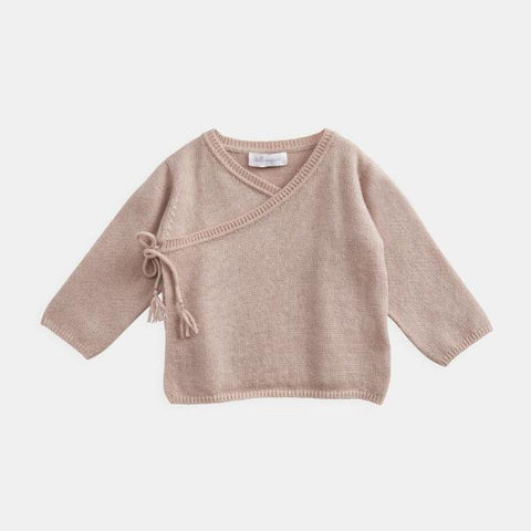 Belle Enfant Wrap Top & Leggings Rose and Hat