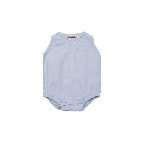 THE NEW SOCIETY BABY BOY ROMPER
