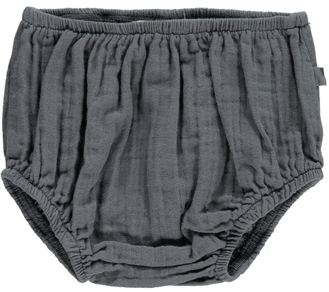 MINI SIBLING BLOOMERS CHARCOAL