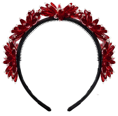 KNOT ENCHANTED CROWN WINTER RED