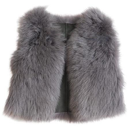 BELLE ENFANT GILET GREY
