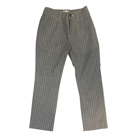 LIHO ASTON PANTS GREY/WHITE PINSTRIPES
