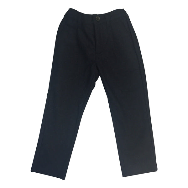 LIHO ASTON PANTS NAVY BLUE WOOL