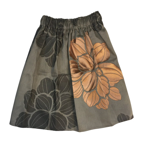 La Bottega skirt grey flowers