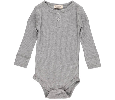 MARMAR RIBBED BODY GREY