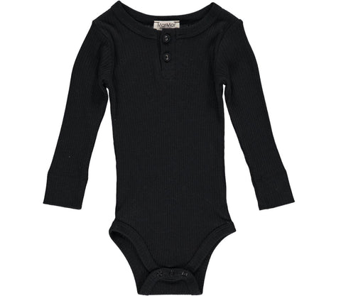 MARMAR RIBBED BODY BLACK