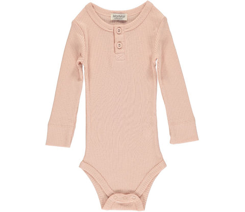 MARMAR RIBBED BODY ROSE