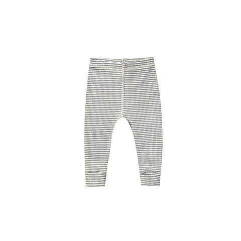 Quincy Mae Ribbed eucalyptus stripe set