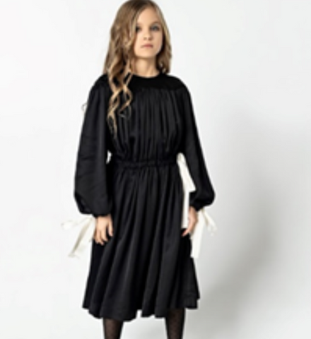 UNLABEL FLY DRESS BLACK