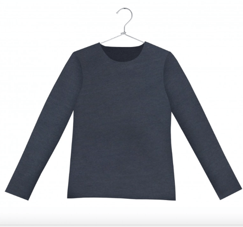 CUCU LAB CANNES SWEATSHIRT GREY
