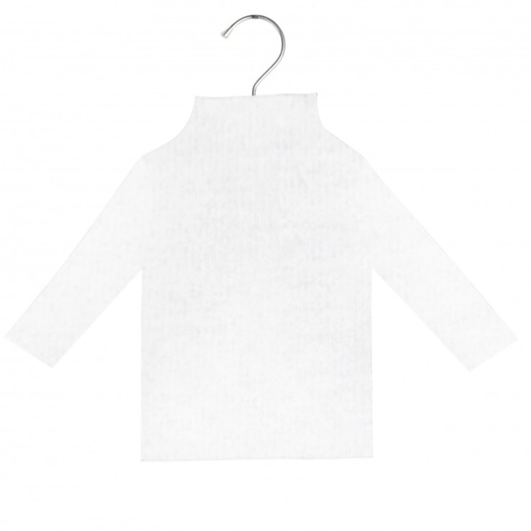 CUCU LAB BIS WHITE JERSEY TOP