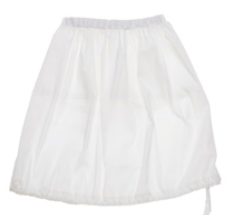 ORIMUSI CAVALLETTA SKIRT WHITE