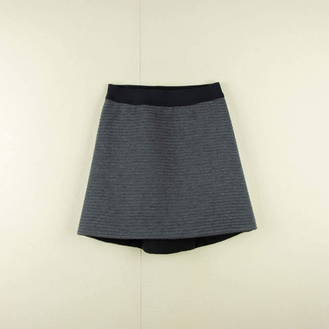 Popelin Grey knitted skirt