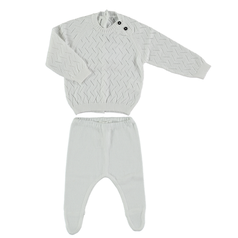 TOCON KNIT WHITE SET