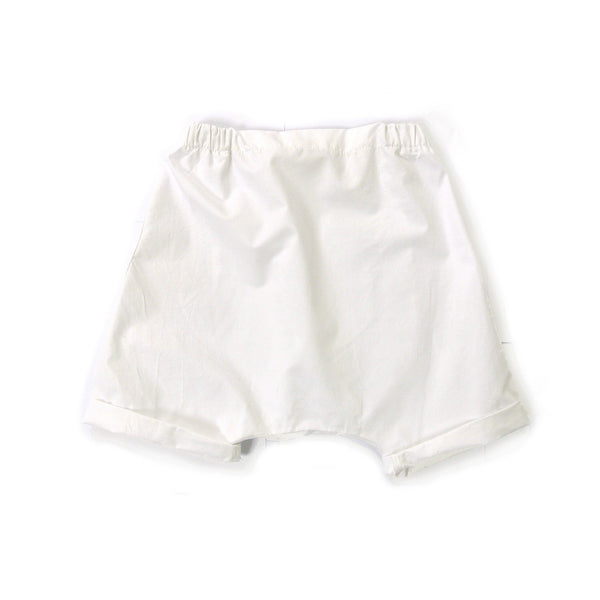 TREE HOUSE TOSI SHORTS WHITE (RUN BIG) - BABY ELAINE
