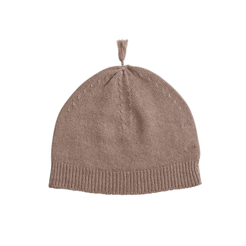 BELLE ENFANT TASSEL HAT BARK