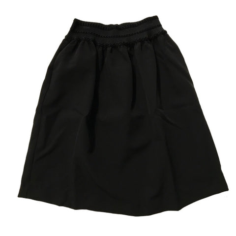 NEUCES BLACK PEONIA SKIRT