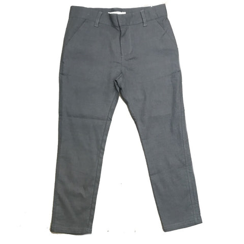 LIHO RUSSEL STEEL GREY LINEN PANTS