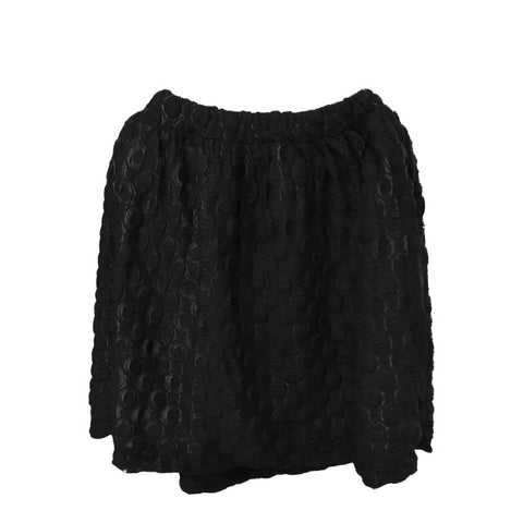 ORIMUSI EMU' SKIRT BLACK