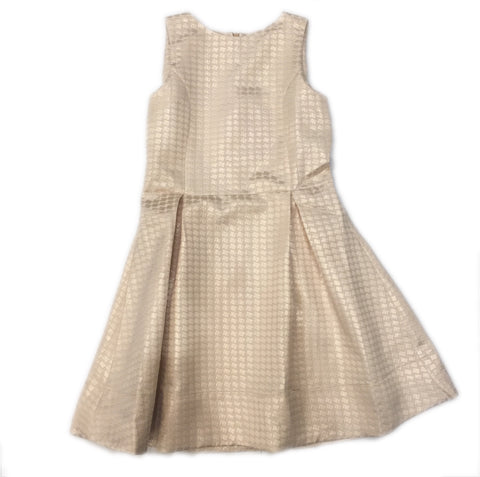 LAMANTINE MOON GOLD DRESS - BABY ELAINE