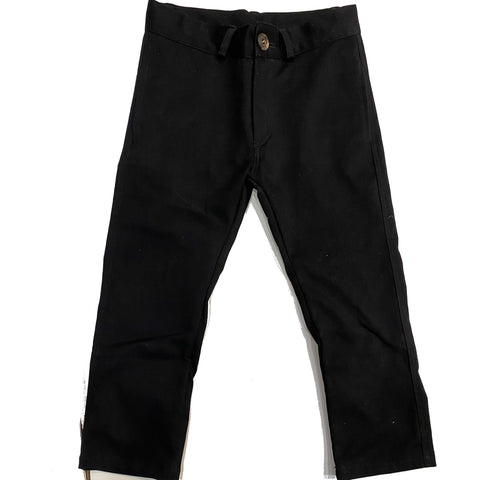 Violeta e Federico Slim Pants Black