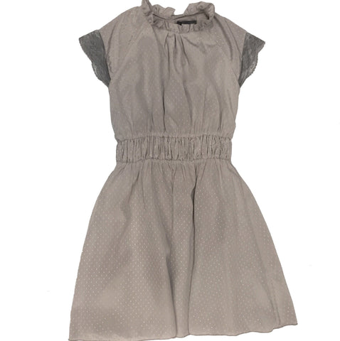 LAMANTINE SHABORI GREY ELASTIC DRESS - BABY ELAINE
