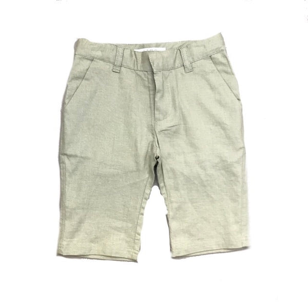 LIHO RUSSEL SHORTS PALE MINT GREEN LINEN