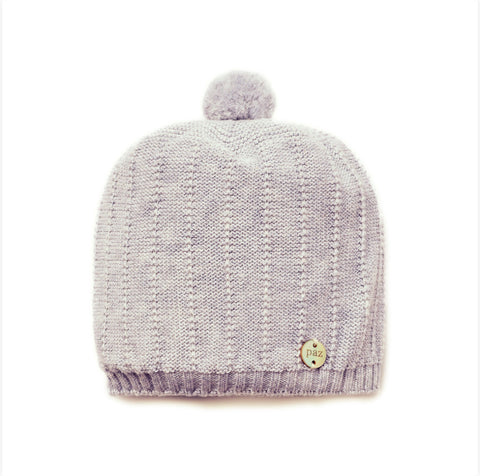 PAZ RODRIGUEZ ELFO KNIT HAT GREY