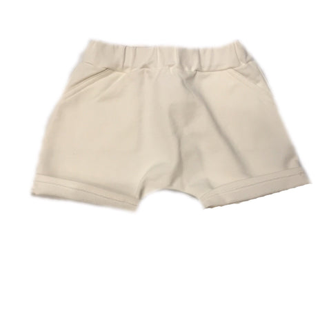 MINIMU SUMMER FLEECE SHORTS MILK - BABY ELAINE